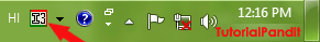 language-bar-showing-hindi-language-icon