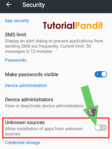 android-security-showing-unknown-sources
