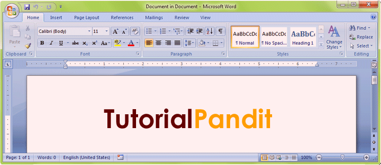 word-object-in-wordpad-document