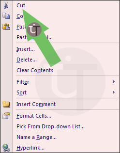 Picture-Showing-Cut-in-MS-Excel