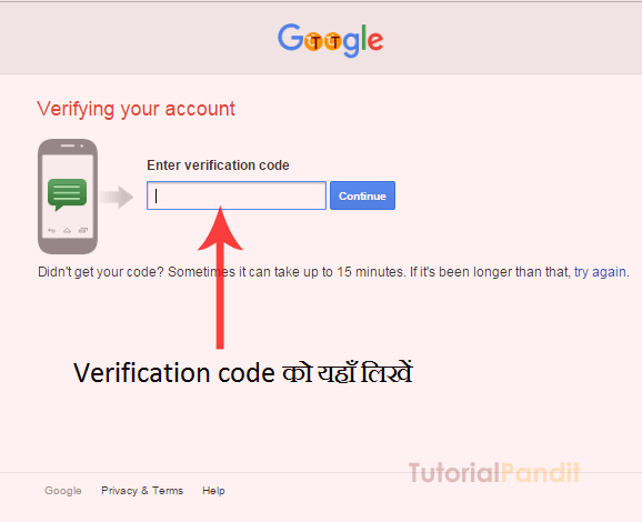 google-account-verification-code