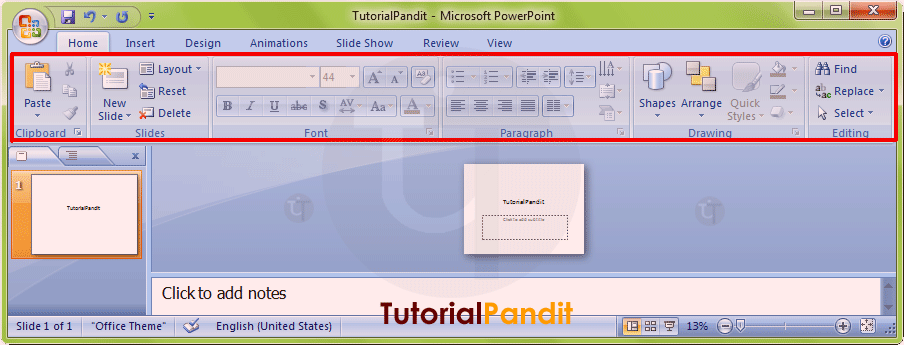 powerpoint-home-tab