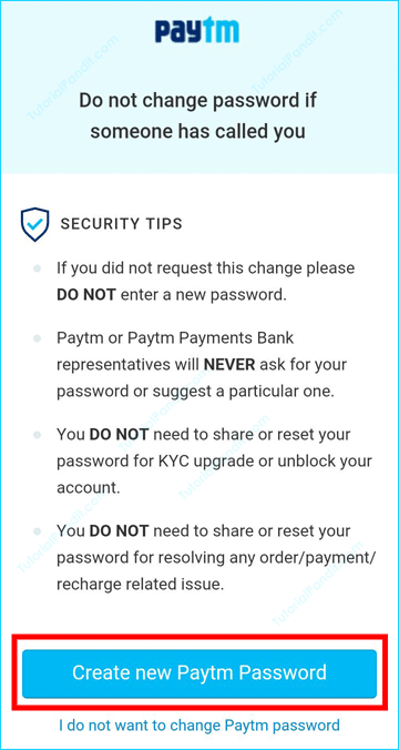 Paytm Security Tips in Hindi
