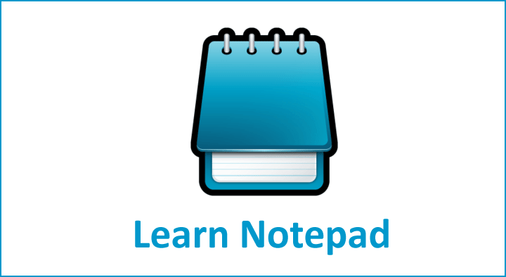 Notepad Learn Free Notepad Tutorials in Hindi