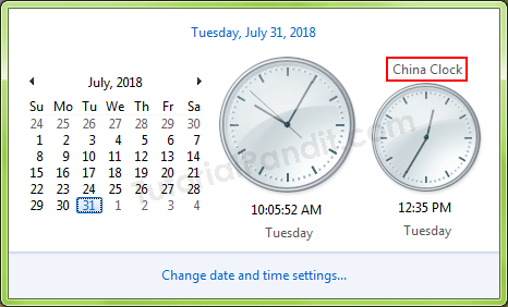 Additonal Clock in Computer in Hindi