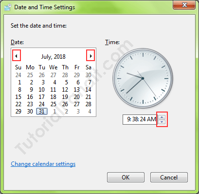 Set the Date and Time Settings in Hindi