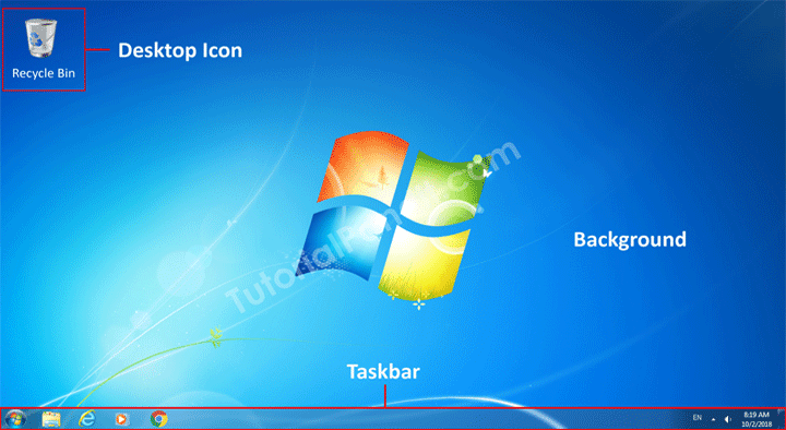 windows desktop in hindi