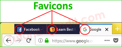 Favicon Icon in Browser Title Bar