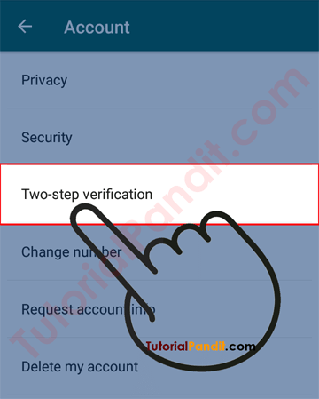 WhatsApp Two-step Verification Settings