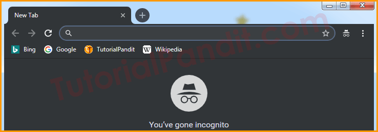 New Incognito Window in Chrome Browser in Hindi