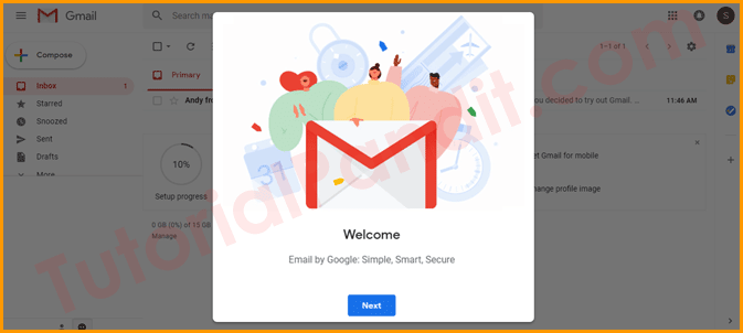 Your Gmail ID Completed and Ready to Use