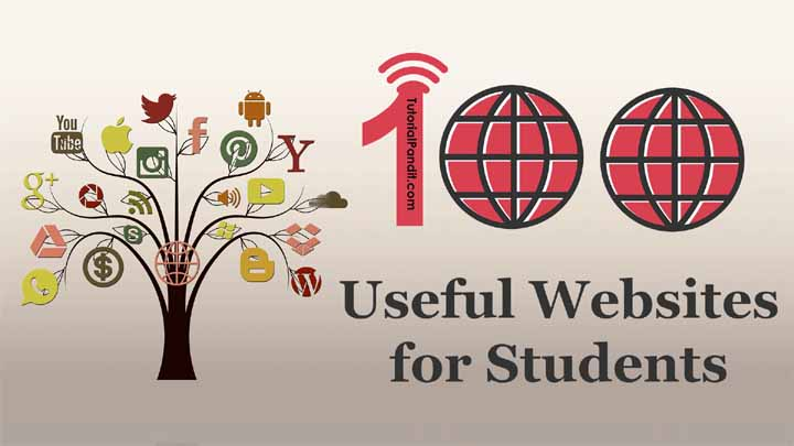 Most Useful Educational Websites for Students in Hindi