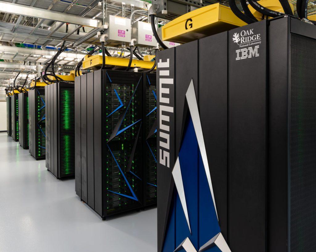 Summit Supercomputer Image