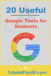Free Google Tools for Students