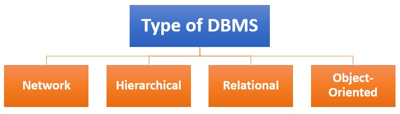Type of DBMS