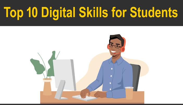 Top Digital Skills for Students in Hindi