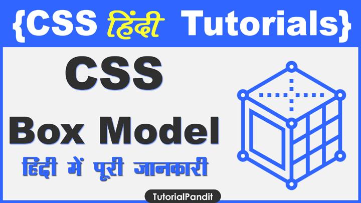 CSS Box Model Property in Hindi