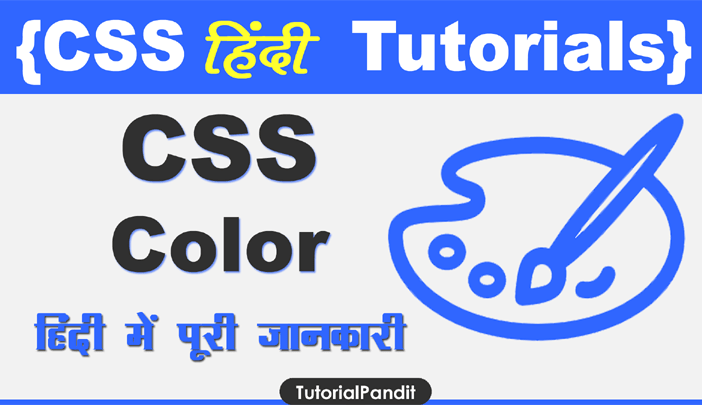 CSS Color Property in Hindi