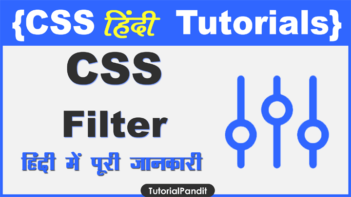 CSS Filter Property in Hindi