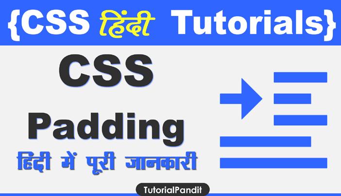 CSS Padding Property in Hindi