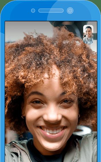 Skype Video Calling Screen